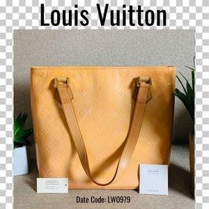 Louis Vuitton Shoulder bag vernis orange houston